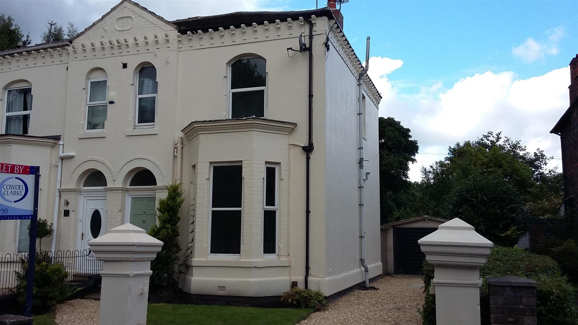3 Bedrooms Semi Detached House for rent in GRAMMAR SCHOOL ROAD, Latchford, Warrington, WA4